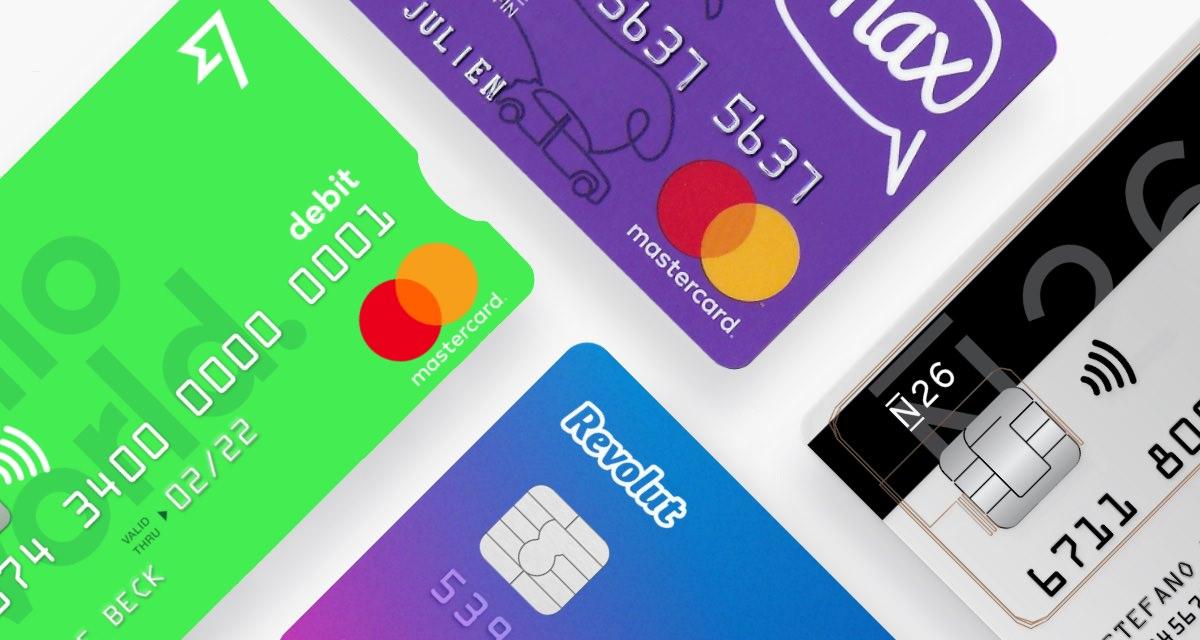 TransferWise, Revolut, N26, Curve & max : comparatif des cartes (presque) sans frais à l'étranger